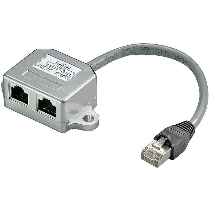 CAT T-Adapter 10/100 und ISDN