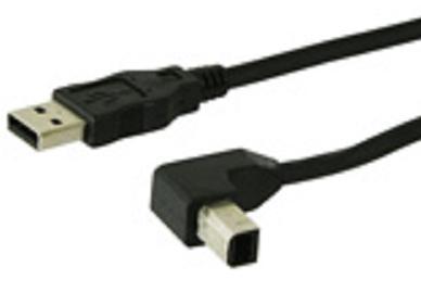 usb kabel a stecker auf winkel b stecker 3 0 m adapterwelt. Black Bedroom Furniture Sets. Home Design Ideas