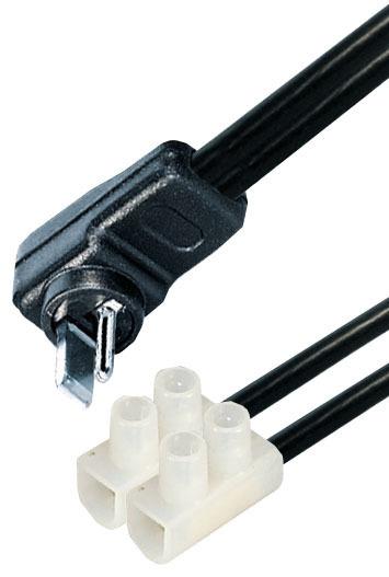 Lautsprecher-Kabel für Autoradio mit Lüsterklemme - adapterwelt